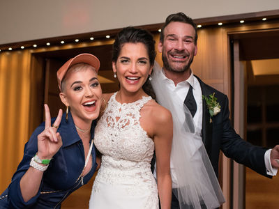 Katy Perry Fulfilled Her Wedding Crasher Dreams for 15 Minutes in St. Louis