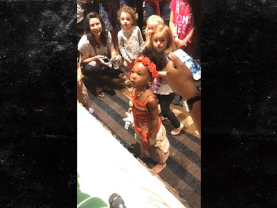 LeBron Throws Baller 'Moana'-Themed Party For Daughter's 3rd Birthday