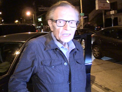 Larry King: Home Plate Tix Are $6,000? My Kids Get Nosebleeds