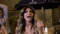 Teresa Giudice's Friend Threatens Paparazzi with Ass Beating for Mean Questions