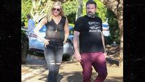 Ben Affleck and Girlfriend Lindsay Shookus Go Home Shopping