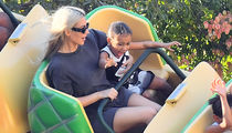 Kim Kardashian Celebrates 37th Birthday with Family at Disneyland