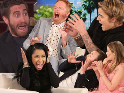 60 Most HILARIOUS Times Ellen DeGeneres Scared the Hell Out of Famous People
