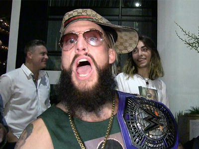 WWE's Enzo Amore: I Got My Own Locker Room, Screw Being Banned!!