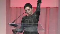 Rose McGowan's First Public Speech Since Harvey Weinstein Scandal