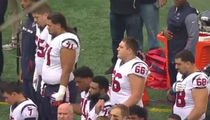 Houston Texans Players Kneel During Anthem After Owner's 'Inmates' Comment
