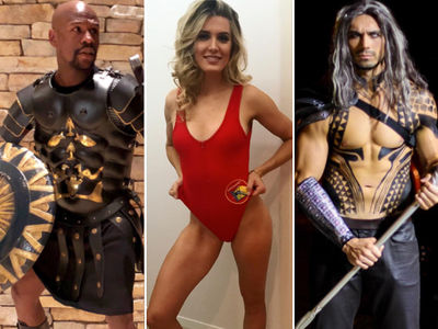 Sports Stars' Hot Bod Halloween: Sick Costumes from Floyd Mayweather & More