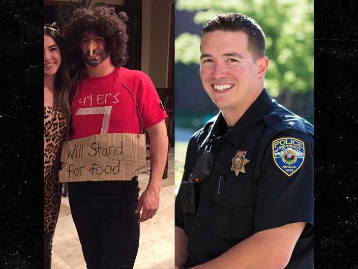 The Chief of the University of Nevada, Reno Police Dept. -- where Colin  Kaepernick went to school -- is apologizing for an officer who mocked the  QB at a ...
