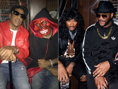 Beyonce and Jay-Z Come As Biggie & Lil Kim for Kelly Rowland's Halloween Party