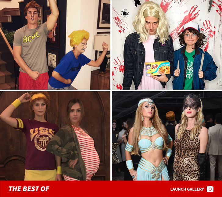 from spooky to sultry this years halloween costumes in hollywood have been one for the record books check out how jay z jessica alba