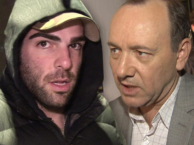 Zachary Quinto Calls Kevin Spacey's Coming Out 'Deeply Sad and Troubling'
