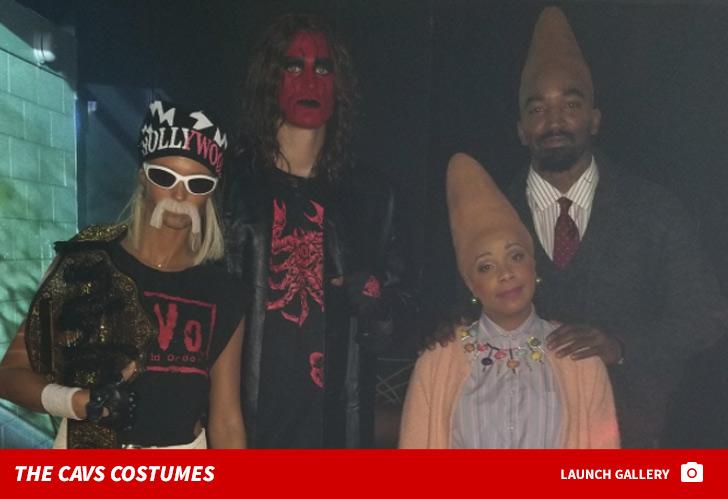 71dfd0ddcf59 LeBron s Disturbing Pennywise Costume Highlights Cavs Halloween ...