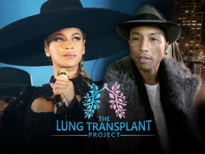 Beyonce & Pharrell Donate Items to Help The Lung Transplant Project
