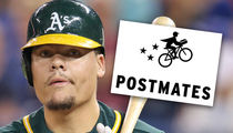 MLB's Bruce Maxwell Banned From Postmates After Gun Arrest