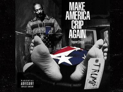 Snoop Dogg Mocks Trump Assassination ... Again