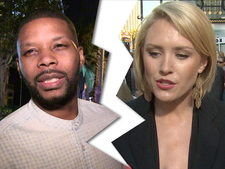 Former NFL star Kerry Rhodes and actress Nicky Whelan have filed for divorce after less than 6 months.