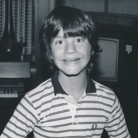 Before this mini metal mouth was behind the scenes producing big time movies, he spent time in front of the camera cheesin' while growing up in Syosset, New York.