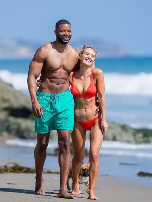 Kerry Rhodes and Nicky Whelan Together
