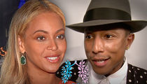 Beyonce & Pharrell Raise Nearly $40k for The Lung Transplant Project