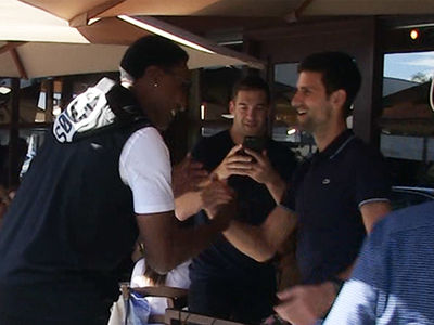 Scottie Pippen Fanboys Out After Spotting 'Tennis GOAT' Novak Djokovic
