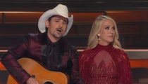 CMA Awards Open with Brad Paisley, Carrie Underwood Making Fun of Trump's Twitter Habits