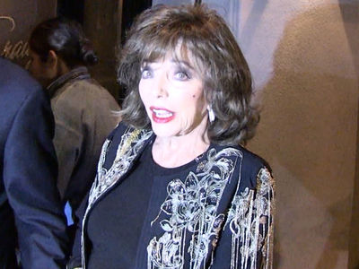 Joan Collins Says She was Constantly Sexually Harassed in Hollywood