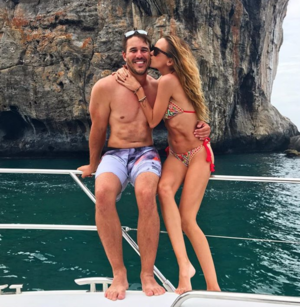 Jena Sims and Brooks Koepka -- Thailand Vacation Photos