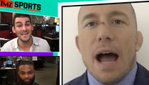 Georges St-Pierre on Conor McGregor Fight: Don't Rule It Out!