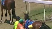 Scumbag Australian Jockey Punches Horse, Gets 2-Week Suspension