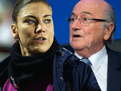 Hope Solo Accuses Ex-FIFA Chief Sepp Blatter of Sexual Assault