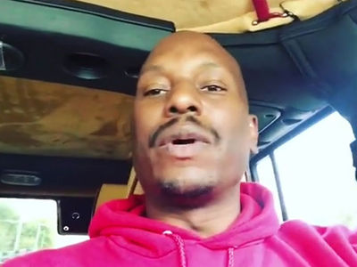 Tyrese Blames Depression Medication for Online Meltdown