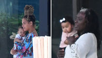 Beyonce and Jay-Z's Twins, Sir and Rumi, Openly Seen After 5 Months