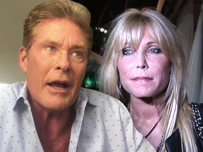 David Hasselhoff Says Basketball Video Proves Ex-Wife Is Lying About Injury