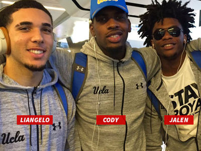 UCLA Players Leaving China, Flying to U.S., Trump Weighs In (UPDATE)