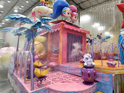 Macy's Thanksgiving Day Parade Floats Ready to Roll