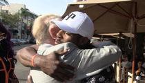 Vin Scully & Yasiel Puig, Emotional Reunion On Bev Hills Street Corner!