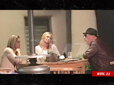 Harvey Weinstein Goes Undercover for Dinner with 2 Women (UPDATE)