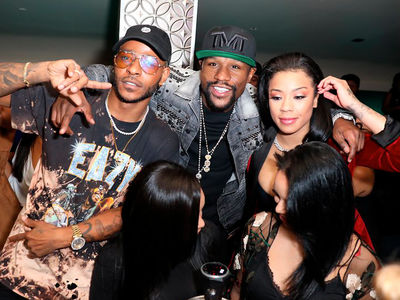 Floyd Mayweather Shows Keyshia Cole Mad Love!!!
