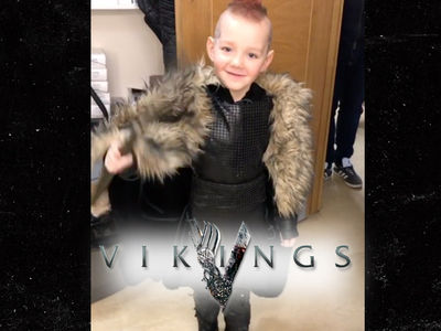 History Channel 'Vikings' Cast Makes Sick Kid's Dream Come True, Be Ragnar for a Day