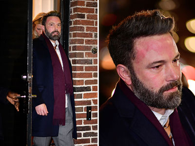 Ben Affleck Looked Flustered After Getting Grilled by Stephen Colbert