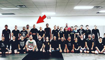 Nate Diaz Hits MMA Training Center with Tyron Woodley Fight Looming