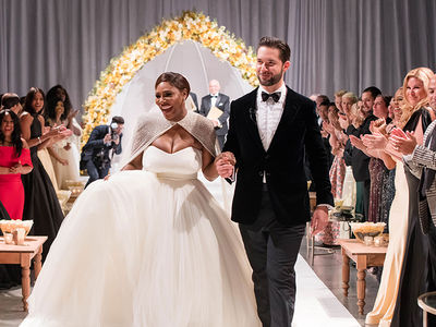 Serena Williams Wedding Photos are Incredible!!!