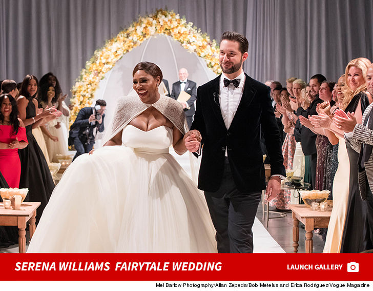 14012d450d9 Serena Williams Wedding Photos are Incredible!!!