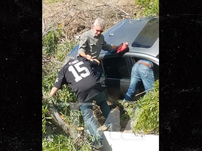 Harrison Ford Helps Woman Who Crashed Car Off Highway