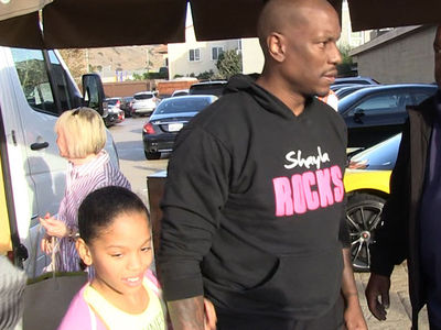 Tyrese Gibson Grabs Sushi with Daughter Shayla After Court Victory