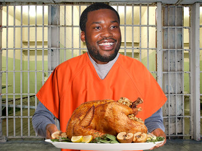 Meek Mill Still Hosting Thanksgiving Turkey Giveaway from Prison