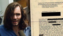 Charles Manson Will, Leaves Entire Estate to Pen Pal