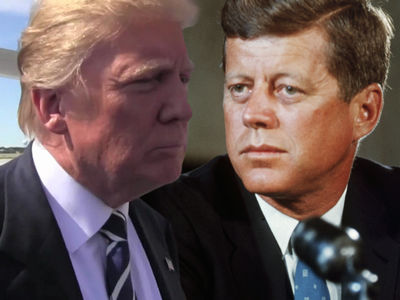 Trump vs. JFK: Presidential Artwork Up for Auction