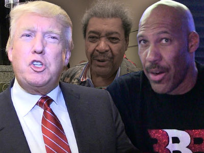 Donald Trump Calls LaVar Ball a 'Poor Man's Don King without the Hair'