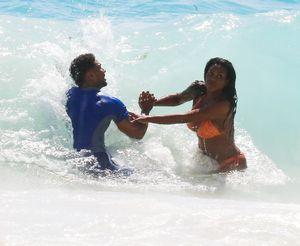 Kenya Moore Bikini Bod in Barbados with Marc Daly